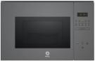 Balay 3CG5175A0 - Horno Microondas Integrable 25 Litros Con Grill Gris
