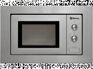 Balay 3WMX1918 - Horno Microondas Integrable 18 Litros Sin Grill Inox