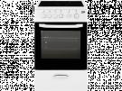 Beko CSS 48100 GW - Cocina Con Vitroceramica 3 Zonas Coccion Blanca