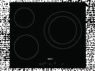 Beko HIC 63401 T - Vitroceramica Independiente 3 Zonas Coccion Ancho 60 Cm