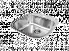 Cata 02612101 Cs-1 - Fregadero De Cocina Acero 1 Cubeta 0 Escurridor Mueble 50