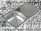 Cata CDS1 - Fregadero De Cocina Acero 45 Cm 1 Cubeta 1 Escurridor