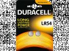 Duracell LR 54 B2 - Pila Boton Alcalina