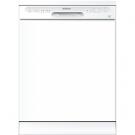 Edesa EDW-6120 WH - Lavavajillas 60 Cm E 12 Cubiertos Blanco