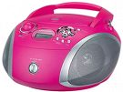 Grundig RCD 1445 USB PINK/SILVER - Radio Cd