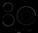 Hisense E6322C - Vitroceramica Independiente Radiantes 3 Zonas Coccion Ancho 60 Cm