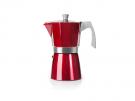 Ibili 623203 - Cafetera Italiana Evva Red 3 Tazas