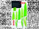 Ibili 727650 - Cuchillo Verde 85+125+15