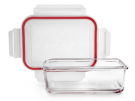 Ibili 754716 1600 ml vidrio rectangular - Tapper