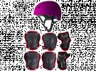 Infiniton PROTECTION KIT ROSA - Kit Proteccion