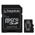 Kingston SDCS2/32GB + ADAPTADOR - Tarjetas De Memoria Microsd 32 Gb