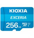 Kioxia SD 256GB EXCERIA - Tarjetas De Memoria Microsd 256 Gb