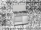 Meireles E 920 W - Cocina De Gas 4gas 2 Elect. Con Portabombonas Blanca Gb