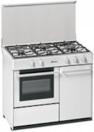 Meireles G 2940 V W - Cocina De Gas 4 Zonas Coccion Con Portabombonas Blanca Gb