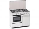 Meireles G 2950 DV W - Cocina De Gas 5 Zonas Coccion Con Portabombonas Blanca Gb