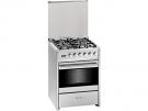 Meireles G 610 X NAT - Cocina De Gas 4 Zonas Coccion Inox Gn