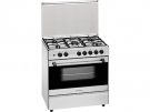 Meireles G 801 X NAT - Cocina De Gas 5 Zonas Coccion Inox Gn