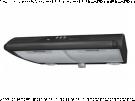 Mepamsa MITO JET 60 NEGRA - Campana Convencional Ancho 60 Cm Negra