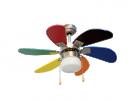Orbegozo CC 65085 - Ventilador Techo De Colores