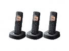 Panasonic KX-TGC313SPB - Telefono Sobremesa Dect Trio