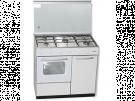 Rommer CH916 PB B - Cocina De Gas 5 Zonas Coccion Con Portabombonas Blanca