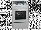 Rommer VCH-450 BUT - Cocina De Gas 4 Zonas Coccion Blanca
