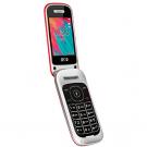 """Spc 2319R VELVET RED - Telefono Movil 2,4"""""""