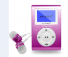 Sunstech DEDALOIII4GBPK - Reproductor Mp3 4gb Rosa