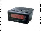 Sunstech FRD18BK - Radio Reloj Negro