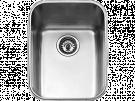 Teka BE 34.45 - Fregadero De Cocina Acero 43 Cm 1 Cubeta 0 Escurridor Bajo Encimera