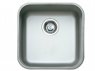 Teka BE - 40.40 - Fregadero De Cocina Acero 51 Cm 1 Cubeta 0 Escurridor Bajo Encimera