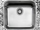 Teka BE - 45.40 - Fregadero De Cocina Acero 60 Cm 1 Cubeta 0 Escurridor Bajo Encimera