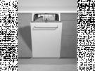 Teka DW8 41 FI - Lavavajillas Integrable A++ 10 Cubiertos 45 Cm