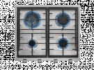 Teka EX 60.1 4G AI AL DR CI NAT - Encimera De Gas E1 4 Zonas Coccion Ancho 60 Cm