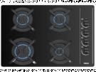 Teka GBC 64003 KBN - Encimera De Gas 4 Zonas Coccion Ancho 60 Cm