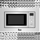 Teka MWE202FI - Horno Microondas Integrable Teka 20 Litros Con Grill Inox