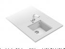 Teka SQUARE 40.40 TG BLANCO ARTICO - Fregadero De Cocina Sintetico 40 Cm 1 Cubeta 0 Escurridores