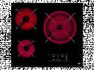 Teka TZ PRO 6315 - Vitroceramica Independiente Radiantes 3 Zonas Coccion Ancho 60 Cm