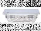 Teka XT2 8910 BLANCA - Campana Integrable Ancho 60 Cm