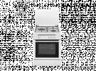 Vitrokitchen CB5530BB - Cocina De Gas 3 Zonas Coccion Blanca Gb