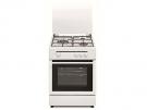 Vitrokitchen CB5530BN - Cocina De Gas 3 Zonas Coccion Blanca Gn