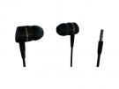 Vivanco 38901 - Auriculares De Boton Negro