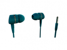 Vivanco 38903 - Auriculares De Boton Verde
