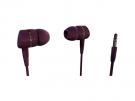 Vivanco 38904 - Auriculares De Boton Rojo
