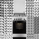 Zanussi ZCG510G1XA - Cocina De Gas 4 Zonas Coccion Gas Butano Inox 85x50cm