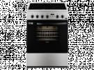 Zanussi ZCV65311XA - Cocina Con Vitroceramica 4 Zonas Coccion Inox 85x60cm